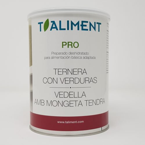Pro Ternera+Verduras 750 g