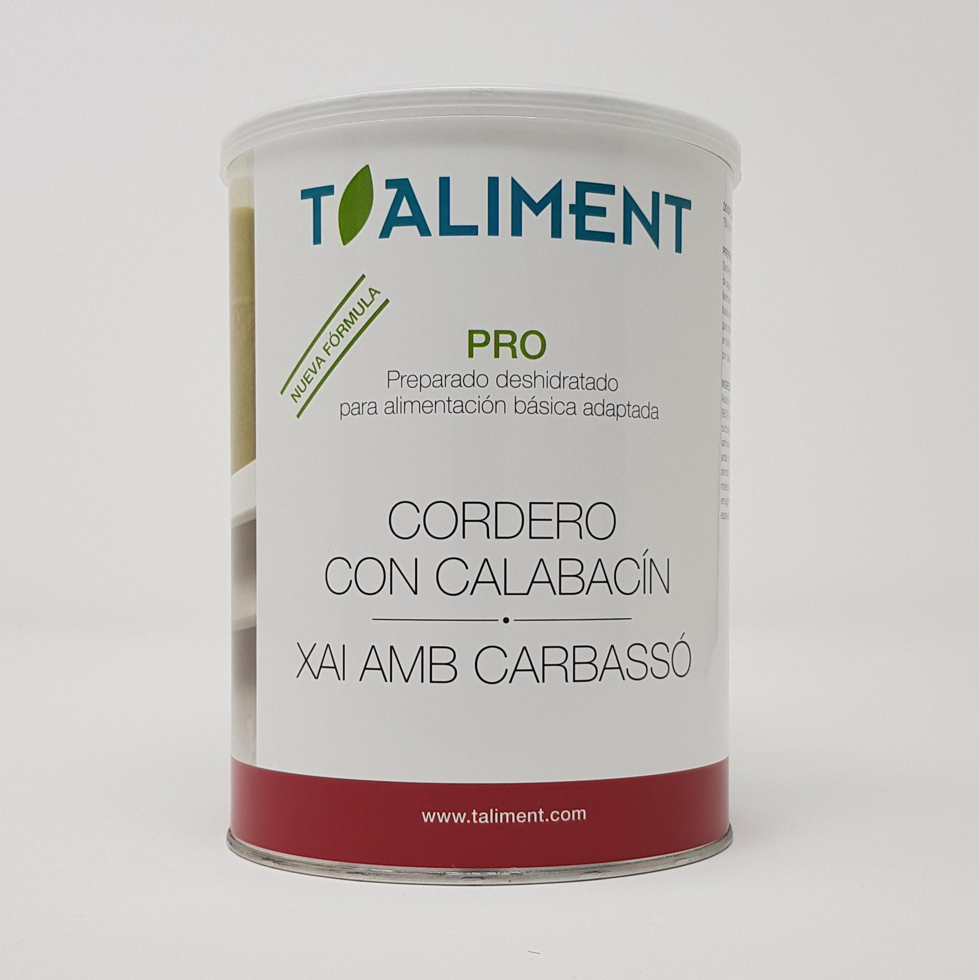 Pro Cordero+Calabacín 750 g