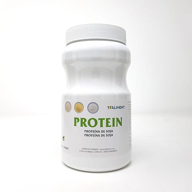 Cod. 25760 T.Aliment Proteina de Soja pot 500 g