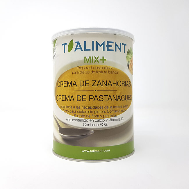 Cod. 26130 T.Aliment MIXPLUS Crema de pastanaga 600g