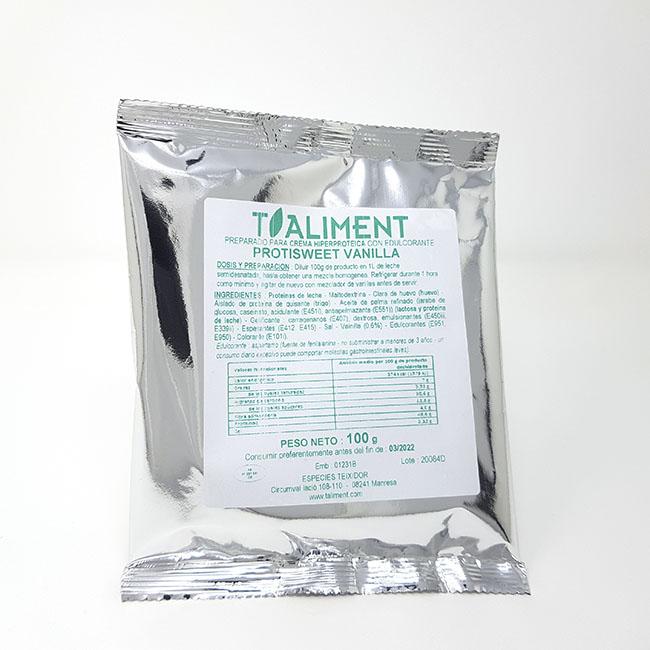 Cod. 26170 T.Aliment ProtiSweet Vainilla dosi100 g